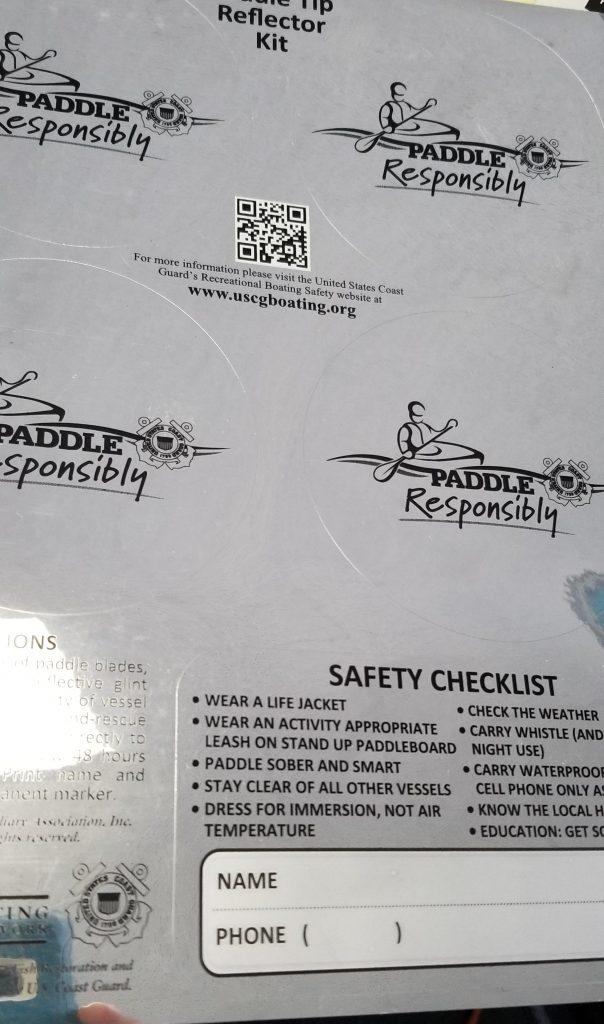 Paddle Safety