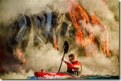 Lava kayaking 2013