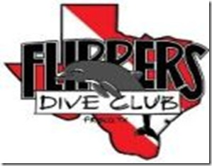 Flippers Dive Club Logo